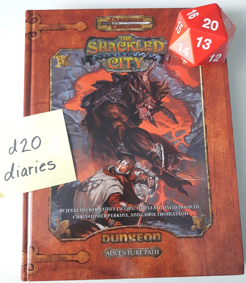 shackled city adventure path d20diaries