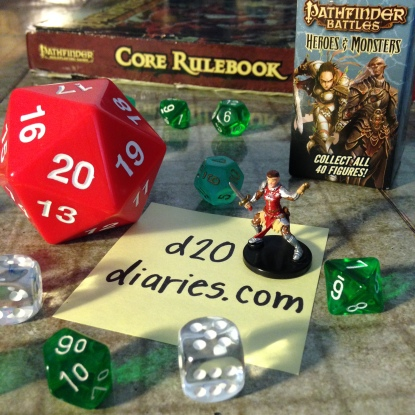 d20diaries heroes and monsters mini