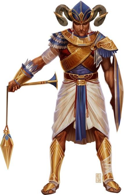Osiris Paladin (Blood of the Ancients)