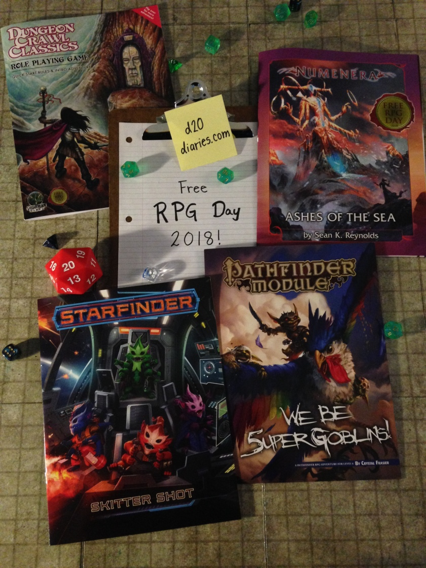 Free RPG Day 2018 d20diaries