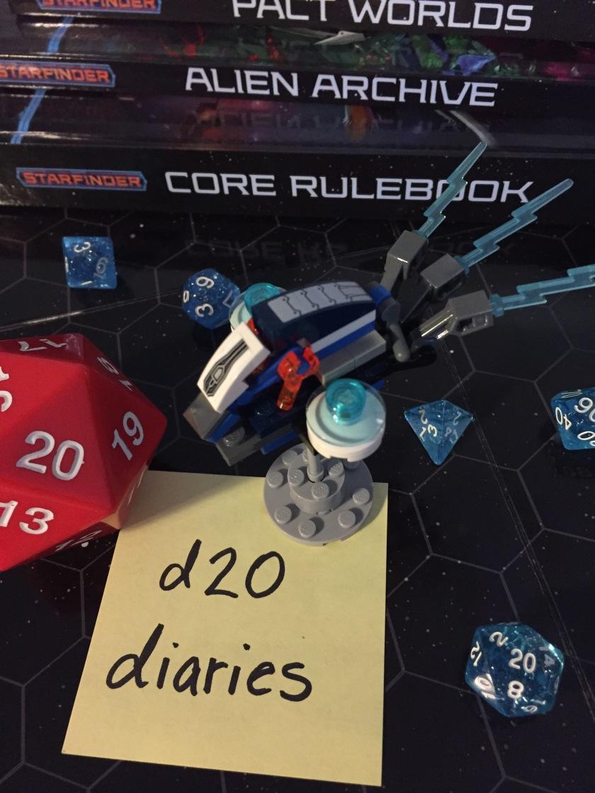 d20 diaries starship starfinder 1