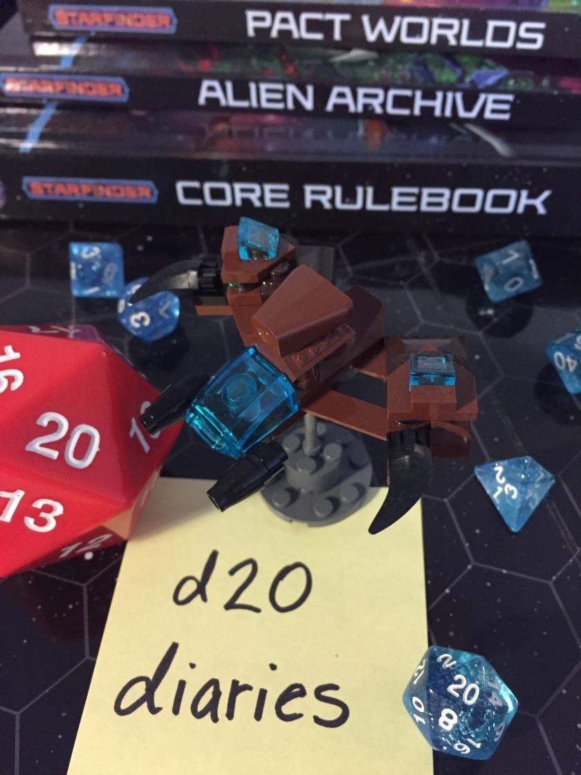 d20 diaries starship starfinder 2