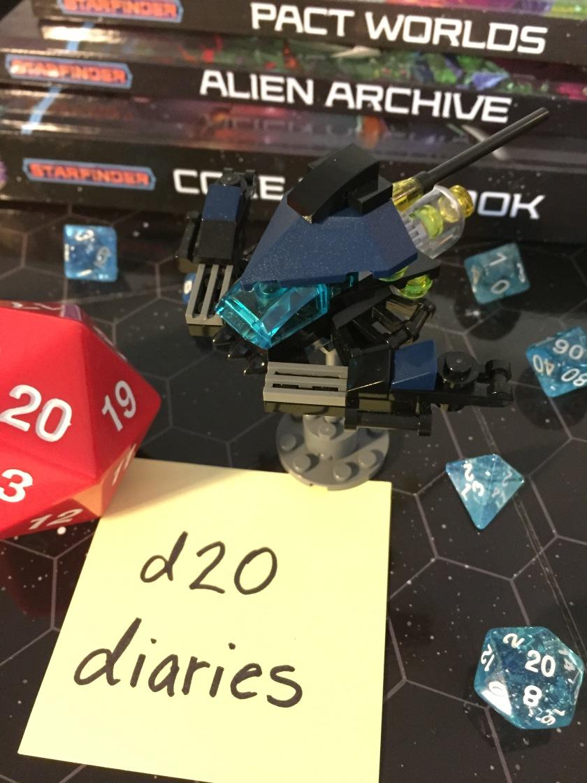 d20 diaries starship starfinder 3