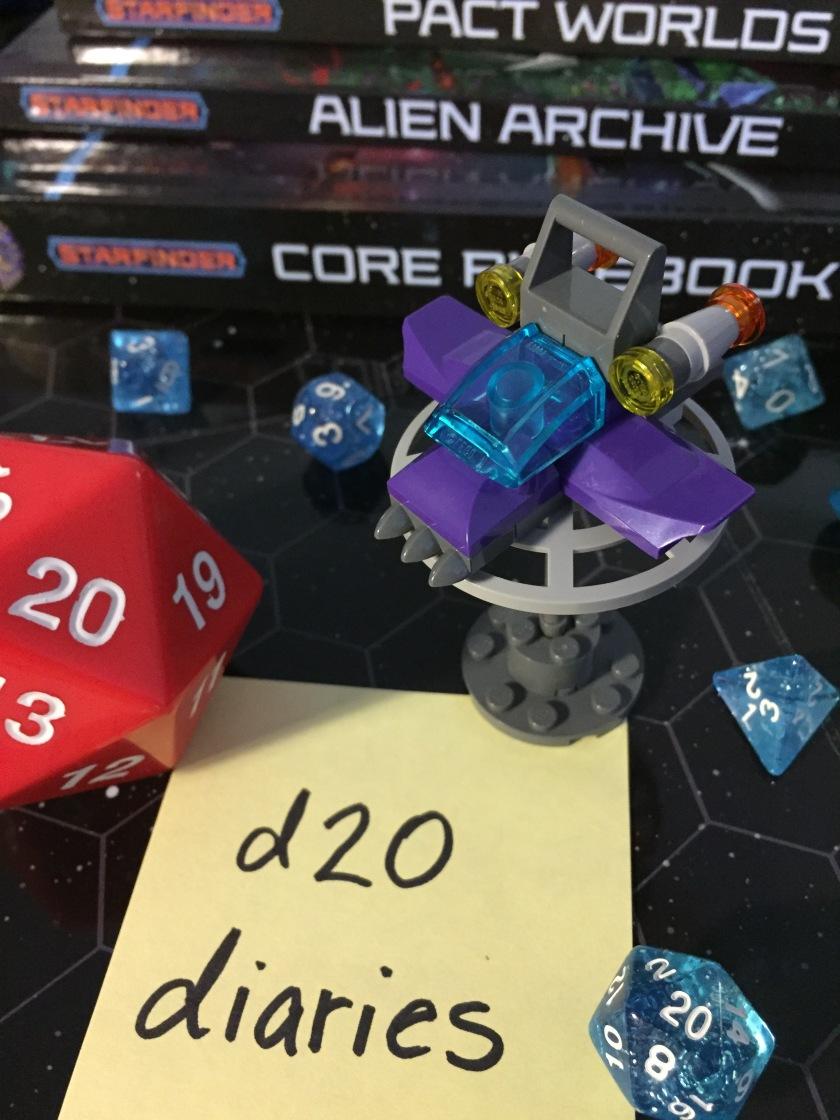 d20 diaries starship starfinder 4