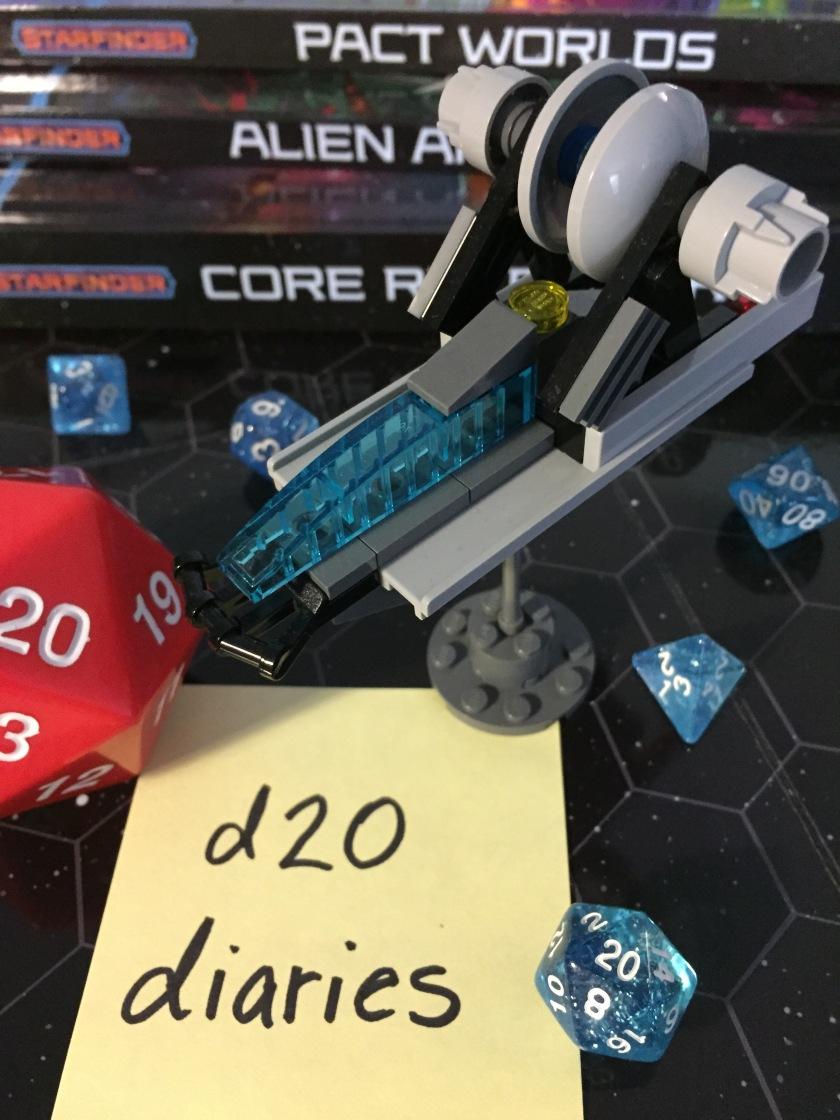 d20 diaries starship starfinder 6