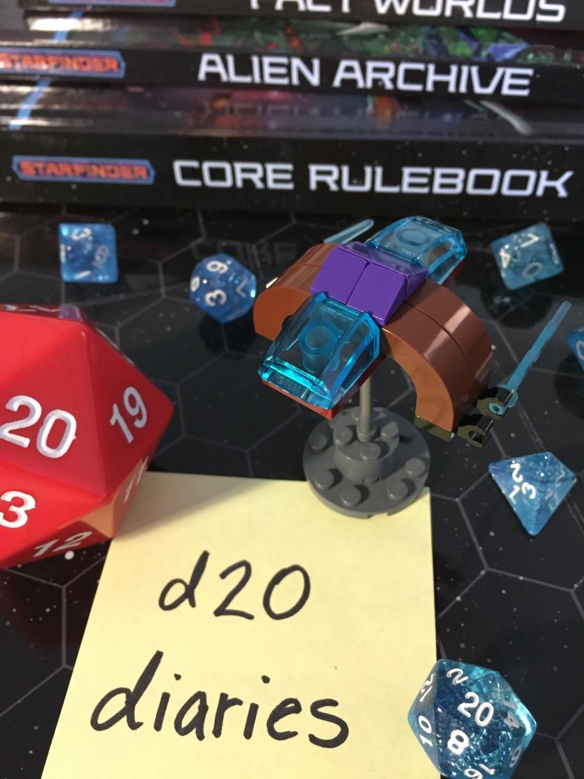 d20 diaries starship starfinder 7