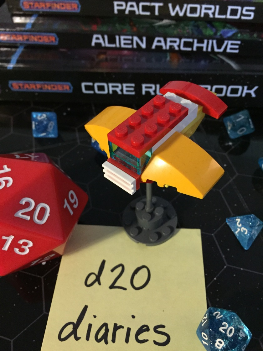 d20 diaries starship starfinder 8