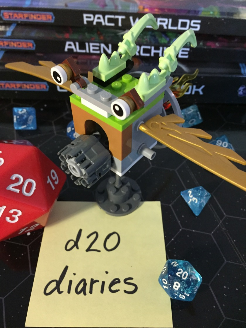 d20 diaries starship starfinder 9