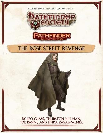 Pathfinder Playetst Society Scenario 1 Rose Street Revenge