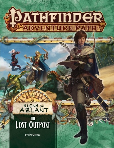 Ruins of Azlant Lost OutPpost Book One