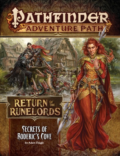 Secrets of Roderics Cove Adam Daigle Return of the Runelords 1