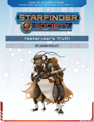 Yesteryear's Truth Ghibrani Husk Starfinder Society