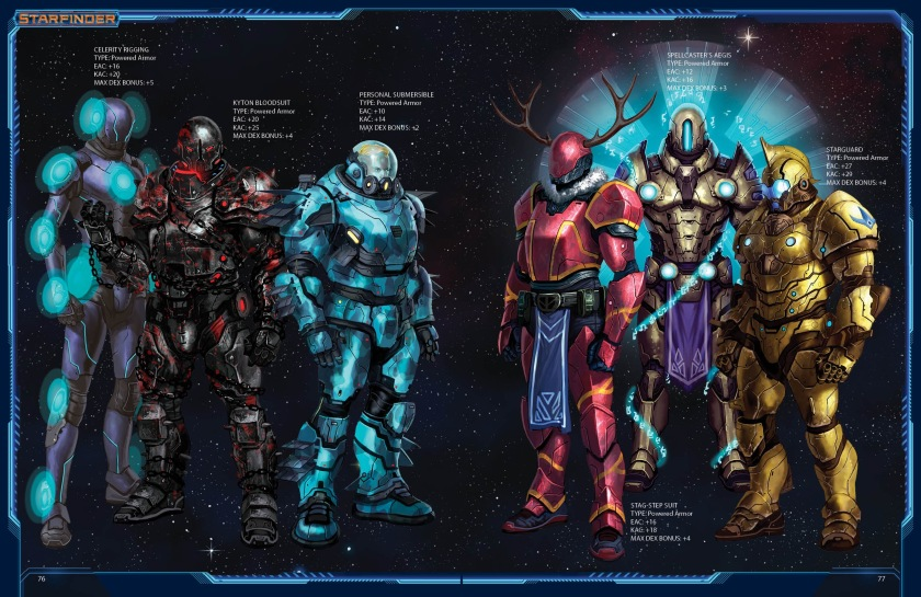 Armory - Power Armor Spread Leonardo Borazio