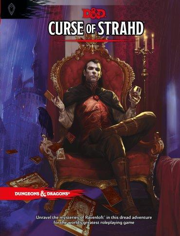 Curse of Strahd, D&D.