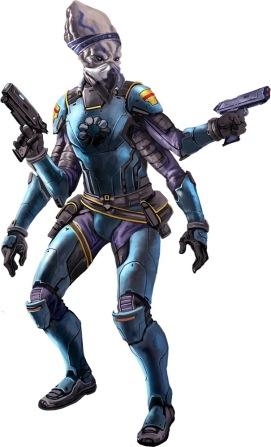 Kasatha Idari Pilgrim from Starfinder: Pact Worlds