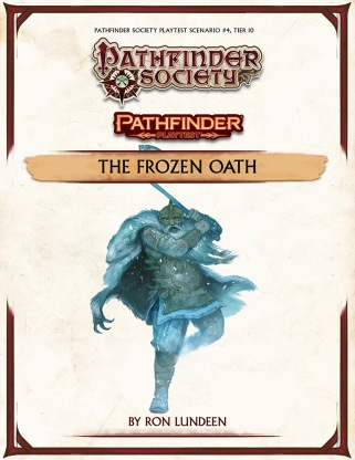 Pathfinder Playtest 4 Frozen Oath