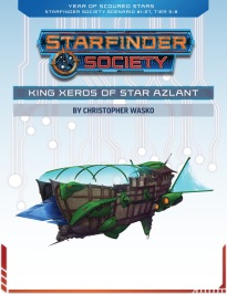 SFS #1-27: King Xeros of Star Azlant