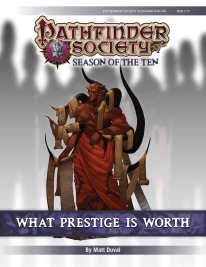 PFS #10-08: What Prestige is Worth