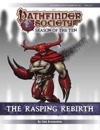 PFS #10-09: The Rasping Rebirth