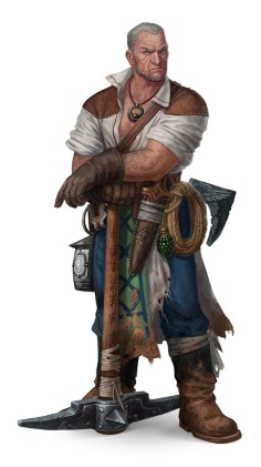 Clegg Zincher from the Second Darkness Adventure Path appears in Return of the Runelords: Book Three: Runeplague