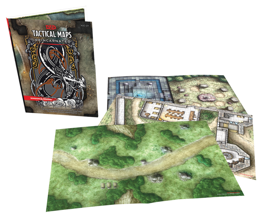 Dungeons and Dragons, Tactical Maps Revisited