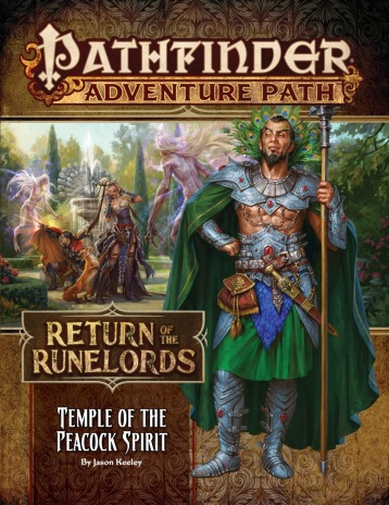 Return of the Runelords Book Four Temple of the Peacock Spirit