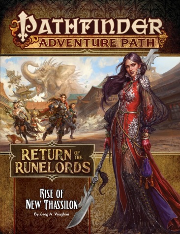 Return of the Runelords Book Six Rise of New Thassilon
