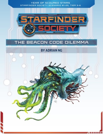 Starfinder Society Scenario 1-25 - Beacon Code Dilemma