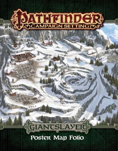 Giantslayer: Poster Map Folio