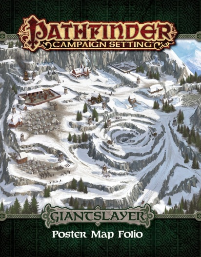 Giantslayer: Poster Map Folio