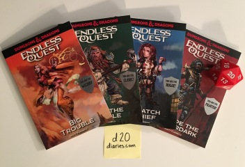 Endless Quest novels by Matt Forbeck