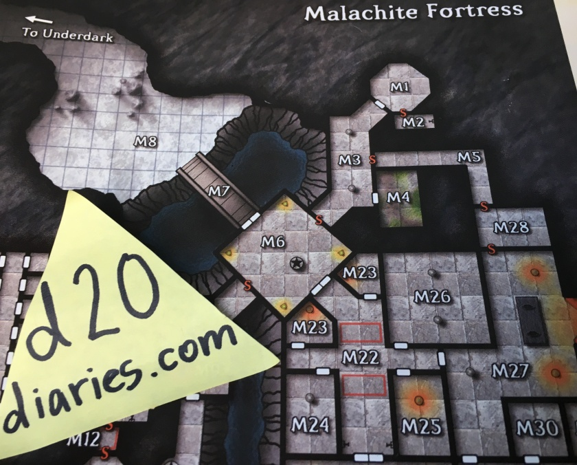 malachite fortress - shackled city - this place is the pits - d20diaries