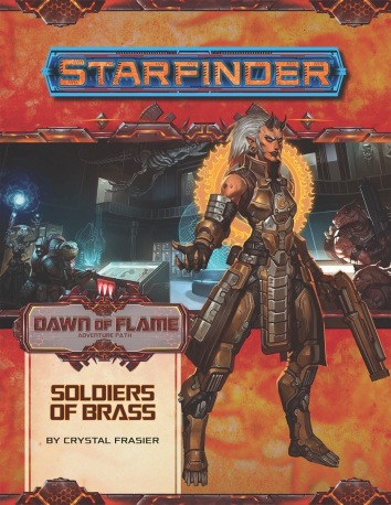 starfinder sadventure path dawn of flame soldiers of brass