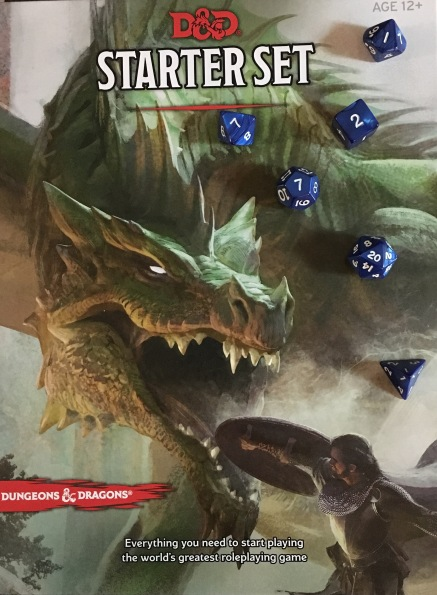 D&D Starter Set and the dice that come with it.