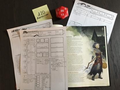 Creating Eldeth Darkvein, the creepy dwarf warlock.
