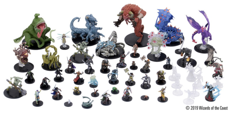 Minis available in D&D Icons of the Realms: Waterdeep: Dungeon of the Mad Mage. Image property of Wizards of the Coast