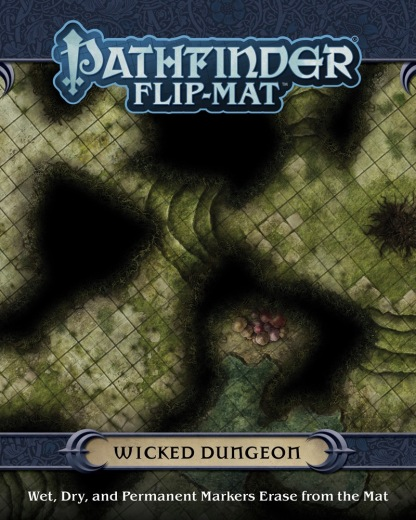 Pathfinder Flip-Mat: Wicked Dungeon