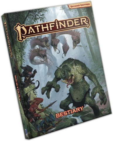 Pathfinder Second Edition Bestiary