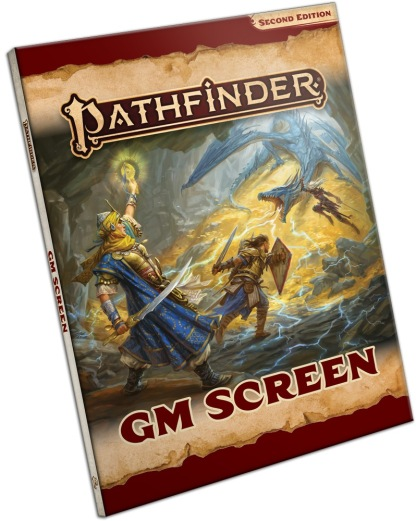 Pathfinder Second Edition GM Screen (landscape)