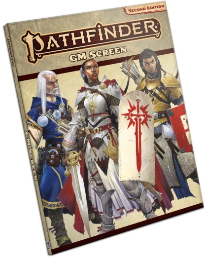 Pathfinder Second Edition GM Screen (portrait)