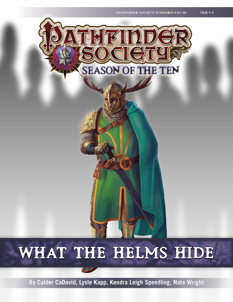 Pathfinder Society Scenarios What The Helms Hide And On