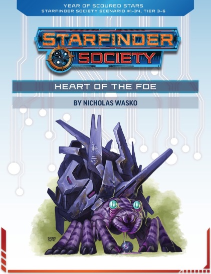 SFS #1-34 - Heart of the Foe by Nicholas Wasko