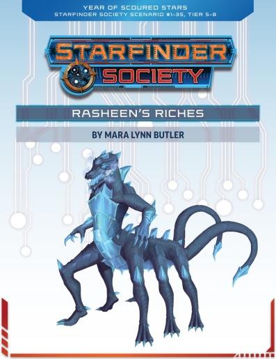 SFS 1-35 - Rasheen's Riches by Mara Lynn Butler