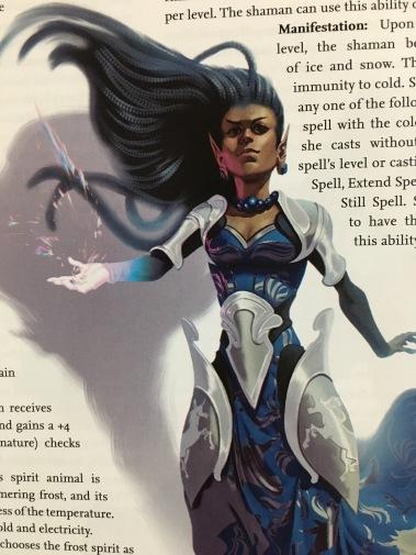 Avistan - Unicorn Sorcerer