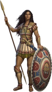 Heroes of Golarion - Psomeira - Nathanael James