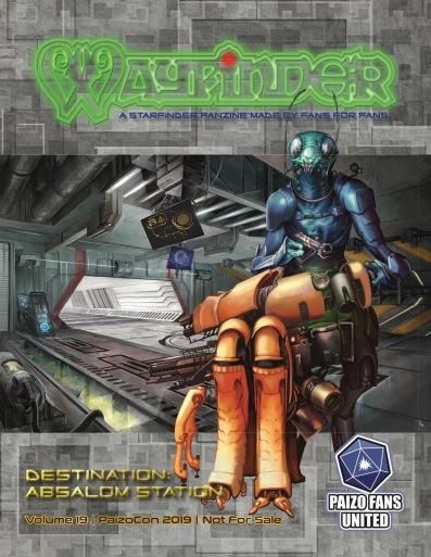 Wayfinder #19 Cover