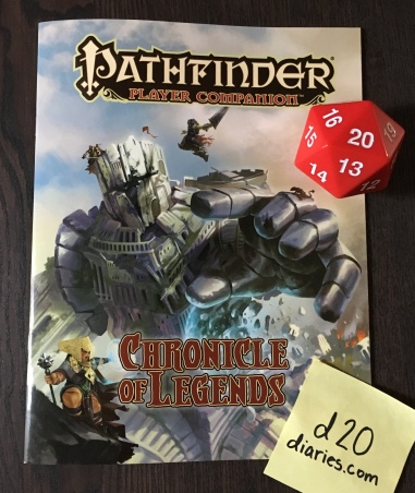 Pathfinder Player Companion - Chronicle of Legends