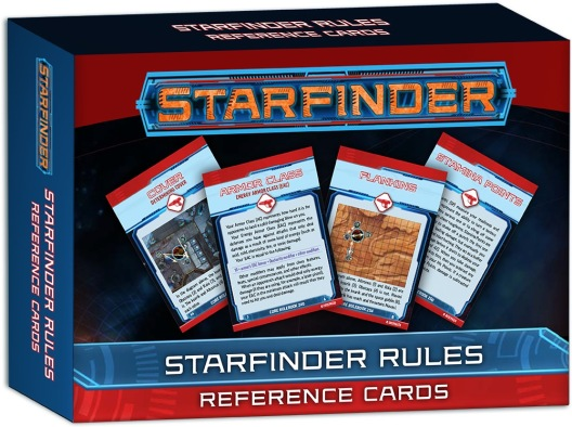 Starfinder Rules Reference Cards