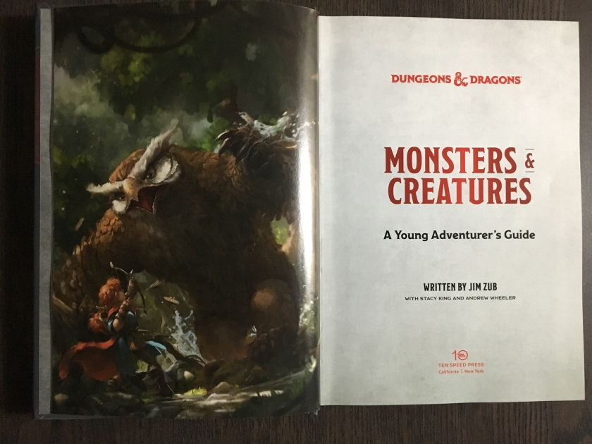 Monsters & Creatures - Inside Cover