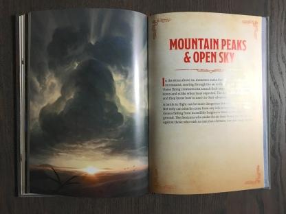 Mountain Peaks & Open Sky